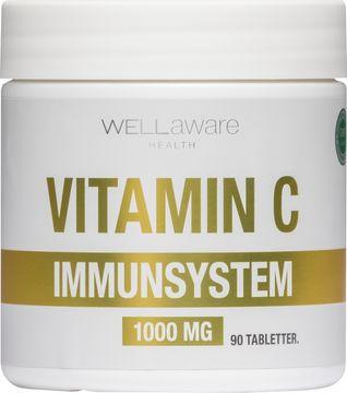WellAware Vitamin C Tabletter Tabletter, 90 st