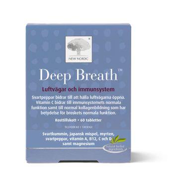 Deep Breath 60 tabletter