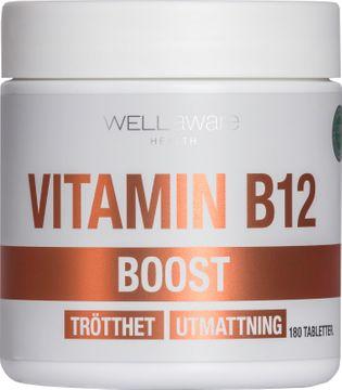 WellAware B12 Kosttillskott tabletter. 180 st