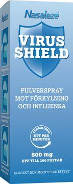 Nasaleze Virus Shield Pulverspray mot förkylning och influensa. 800 mg