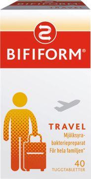 Bifiform Travel Mjölksyrabakteriepreparat Tuggtablett, 40 st