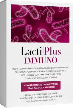 LactiPlus Immuno Mjölksyrabakterier sugtablett. 30 st