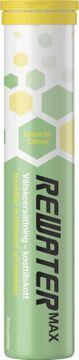 Natuvital ReWater MAX Vätskeersättning Grönt Te/Citron. 20 st