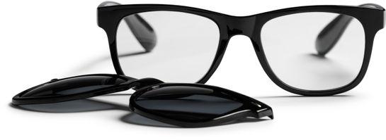 Haga Optik Ystad +2.5. Läsglasögon med solclips. 1 st