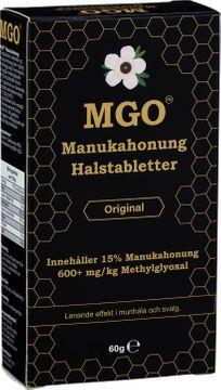 MGO Manukahonung Halstabletter original. 60 g