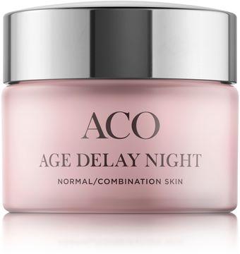 ACO Age Delay Night Normal Skin Anti-age dagkräm. 50 ml