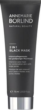 Annemarie Börlind 2 in 1 Black Mask Ansiktsmask. 75 ml