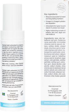 Cicamed Night Antioxidant Nattkräm anti-age. 50 ml