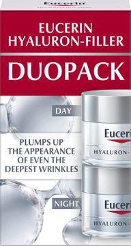 Eucerin Day & Night Duopack Hyaluron-Filler. Dag- och nattkräm. 2x50 ml