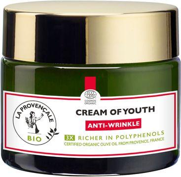 La Provencale Bio Cream of Youth Anti-Wrinkle Dagkräm. 50 ml
