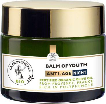 La Provencale Bio Balm of Youth Anti-Age Nattkräm. 50 ml