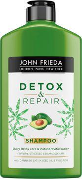 John Frieda Detox & Repair Shampoo Schampo. 250 ml