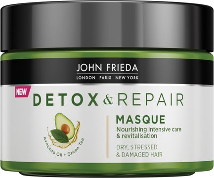 John Frieda Detox & Repair Masque Hårinpackning. 250 ml