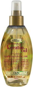 OGX Keratin Weightless Reviving Oil Hårolja. 118 ml