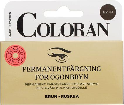 Coloran Brun Ögonbrynsfärg, 8 ml