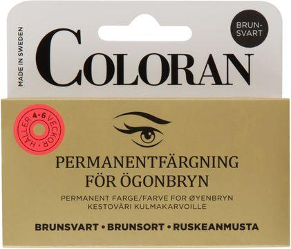 Coloran Brunsvart Ögonbrynsfärg. 8 ml