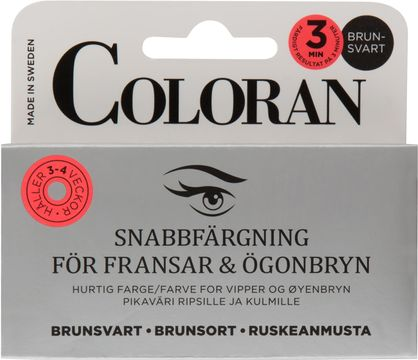 Coloran Brunsvart Ögonbrynsfärg, 5 ml