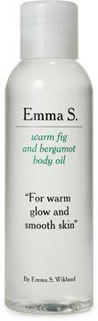 Emma S. Warm Fig and Bergamot Body Oil Återfuktande kroppsolja 125 ml