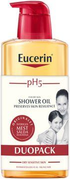Eucerin Shower Oil Duopack Parfym pH5. Duscholja. 2x400 ml