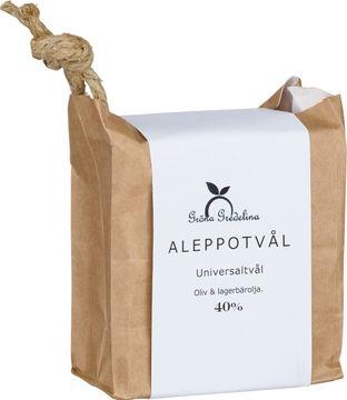 Gröna Gredelina Aleppotvål 40% Universaltvål. 200 g