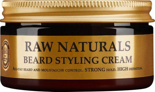 Raw Naturals Beard Styling Cream Stylingkräm för skägg och mustasch 100 ml