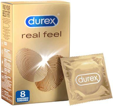 Durex Real Feel Kondom. 8 st
