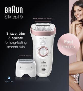 Braun Silk épil S9-720 Epilator Epilator, 1 st
