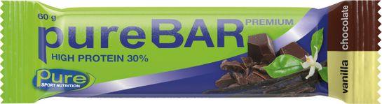 Pure Bar Premium Vanilla Chocolate. 60 g