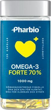 Pharbio Omega-3 Forte Kapsel, 120 st