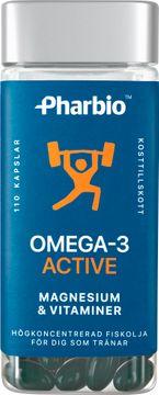 Pharbio Omega-3 Active Kapsel, 110 st