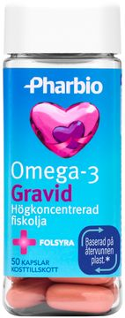 Pharbio Omega Gravid Koncentrerad fiskolja