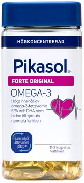 Pikasol Forte Original Omega-3 Kapsel, 110 st
