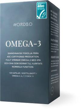 Nordbo Omega-3 ASC 120 kapslar