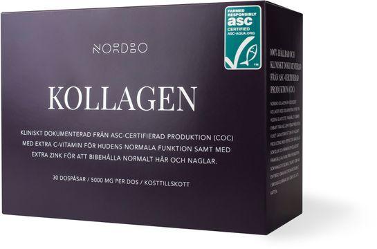 Nordbo Kollagen ASC 30 dospåsar