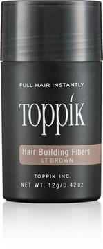 Toppik Hair Building Fibers Hårfiber ljusbrun. 12 g