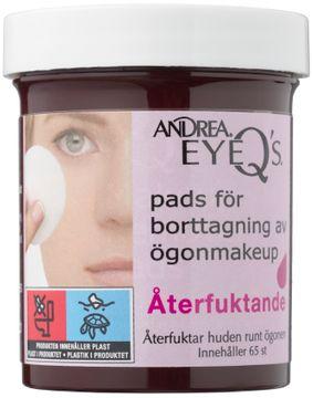 Andrea Eye Q's Remover Pads Original Sminkborttagning. 65 st