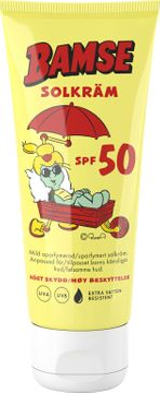 Bamse Solkräm SPF 50 Solskydd för barn. 100 ml