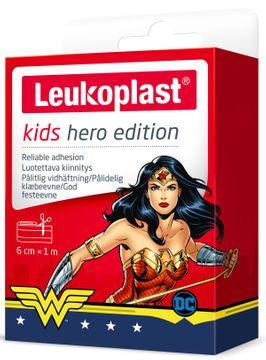Leukoplast Kids Hero Mixpack Plåster för barn. 6 cm x 1 m
