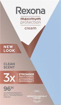 Rexona Maximum Protection Clean Scent Deodorant. 45 ml