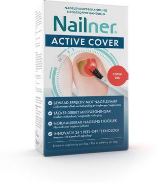 Nailner Active Cover Nagelsvampbehandling, 30 ml