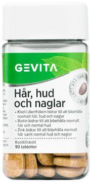 Gevita Hår, hud & naglar Tablett, 90 st