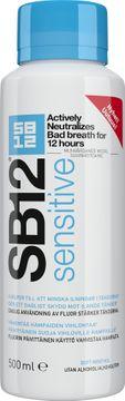 SB12 Sensitive Munskölj. 500 ml