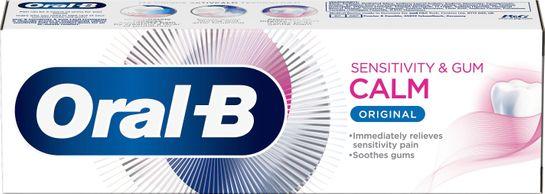 Oral-B Sensitivity & Gum Calm Tandkräm. 75 ml