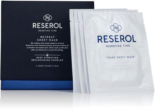 Reserol Retreat Sheet Mask Ansiktsmask. 4 st
