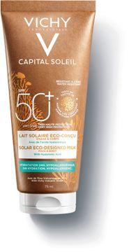 Vichy Capital Soleil Solar Eco De Milk SPF 50+ Solskydd. 75 ml