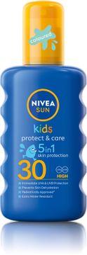Nivea Kids Protect & Moisture Kids Sun Spray SPF 30 Solskydd för barn. 200 ml