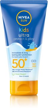 Nivea Kids Swim & Play Sun Lotion SPF 50+ Solskydd för barn. 150 ml