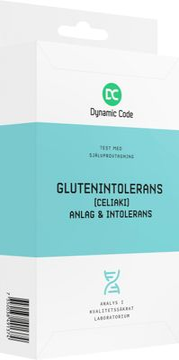 Dynamic Code Glutenintolerans Anlag & Intolerans Test med självprovtagning, 1 st