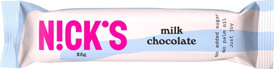 Nick's Milk Chocolate Chokladkex. 25 g