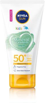 Nivea Kid's Mineral Sunscreen SPF 50+ Solskydd för barn. 150 ml